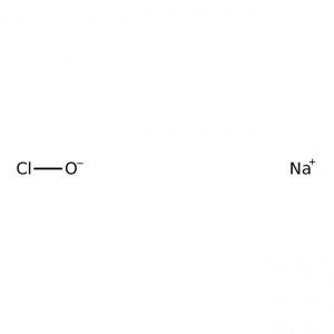Sodium hypochlorite, 10-15% active chlorine, Acros Organics